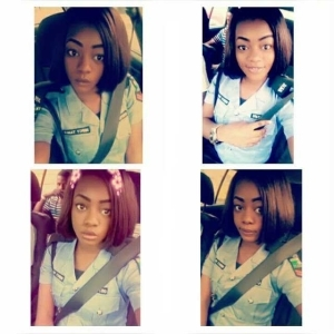 See This Beautiful, Young Female Police Corporal That Has Got People Talking (Photos)